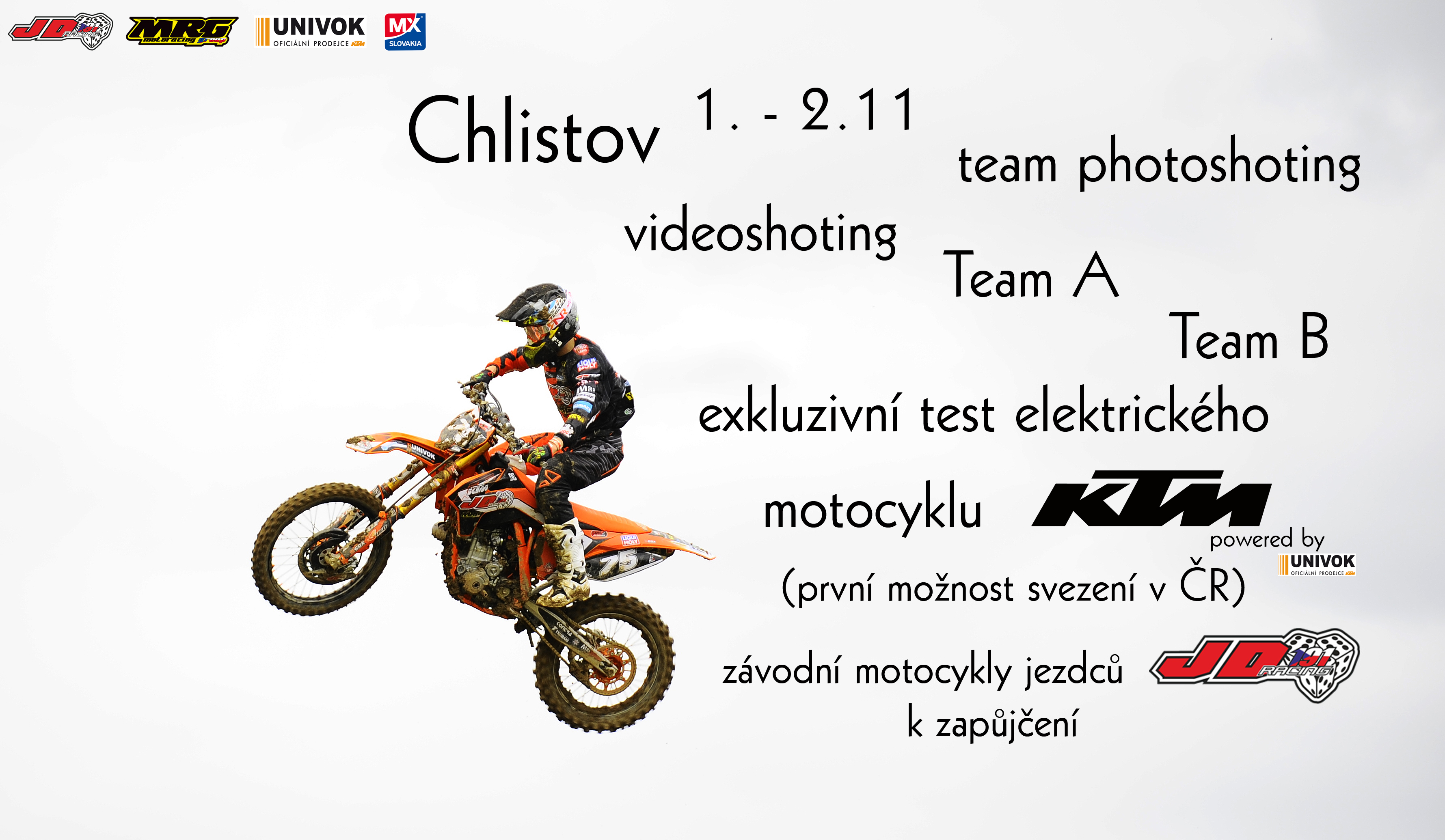 JD191KTM - MRG racing team Day Chlistov